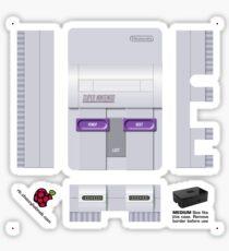 Nintendo SNES (USA) Skin for the Premium case [Get the MEDIUM size] Sticker