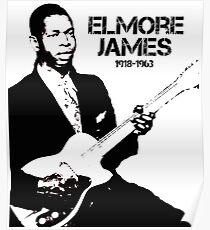 Elmore James - Blues Legend Poster