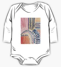 Shakti Abstract Hand Painted Design Kids Clothes
