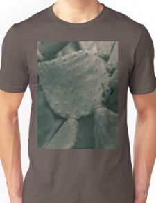 Prickly Pear leaf, Macro, high quality Photo, still life, Cactus, fine art, photography, glicée, print, nature, lover, photo 1 of 2 Unisex T-Shirt