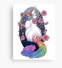 Kittycorn Canvas Print