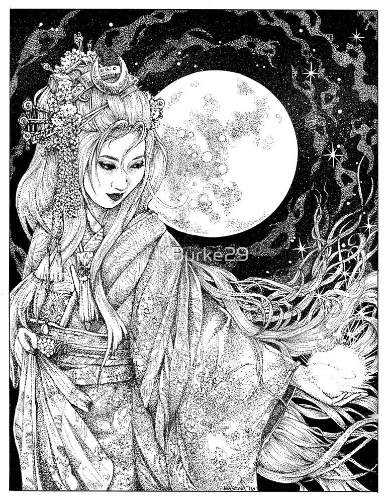 Moon Goddess by LKBurke29
