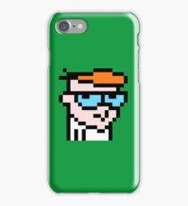 Dexters 8bit lab iPhone Case/Skin