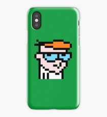 Dexters 8bit lab iPhone Case/Skin