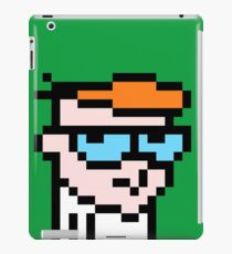Dexters 8bit lab iPad Case/Skin