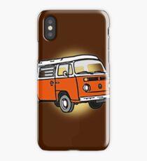 Bay Window Campervan Sunburst iPhone Case/Skin
