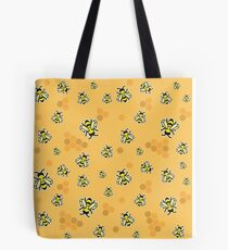 Busy Bees - Bright Tote Bag