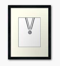Medal Framed Print