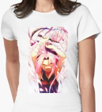 SAKURA Womens Fitted T-Shirt