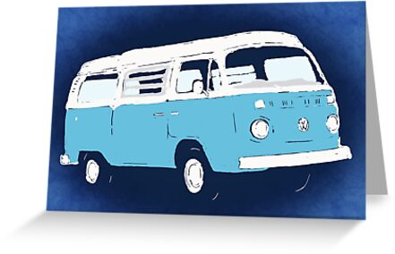 Bay Camper Blue White New Version by Ra12