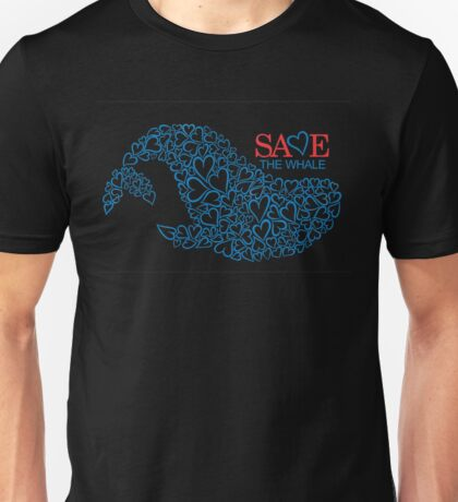 Save The Whale Unisex T-Shirt