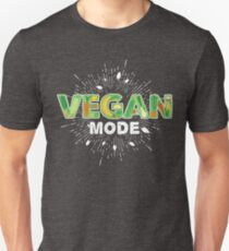 Vegan Mode - Vegeterian Unisex T-Shirt