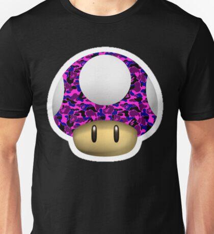 Purple BAPE Mushroom Unisex T-Shirt