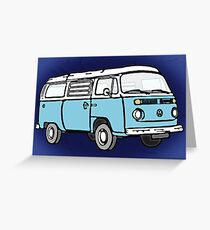 Blue Bay Graphic Greeting Card