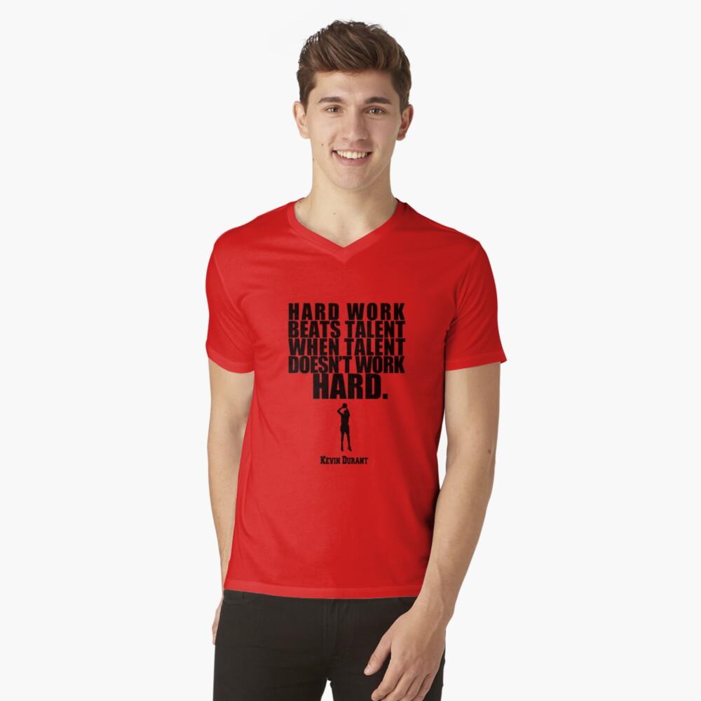 Kevin Durant Camiseta de cuello en V