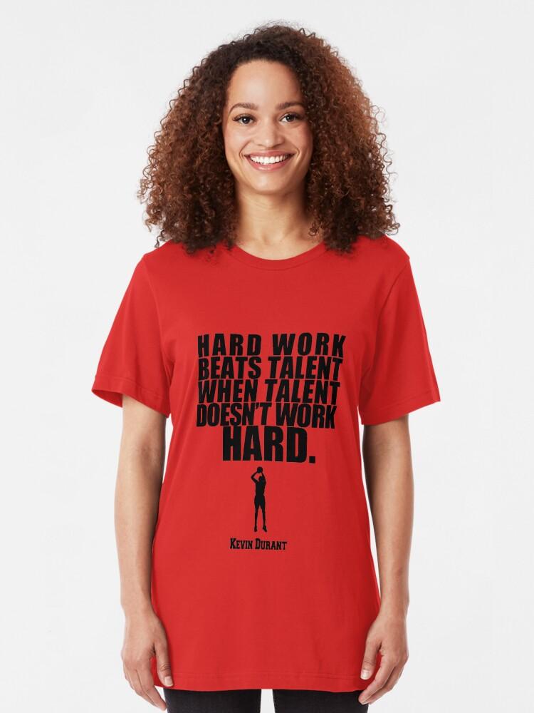 Vista alternativa de Camiseta ajustada Kevin Durant