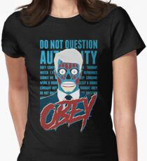 Obey Womens Fitted T-Shirt