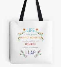 Live Long And Prosper Leonard Nimoy Watercolor Quote Tote Bag