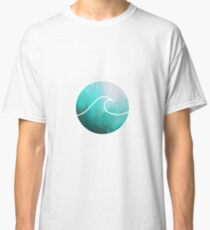 Watercolor Wave  Classic T-Shirt
