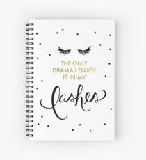 Lash Drama Spiral Notebook