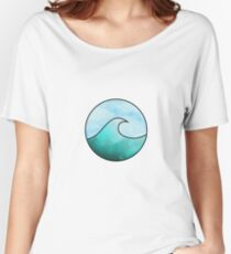 Watercolor Wave 4 Women's Relaxed Fit T-Shirt