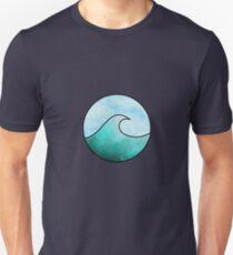 Watercolor Wave 4 Unisex T-Shirt
