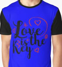 Love is the key Graphic T-Shirt