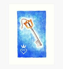 Keyblade Art Print