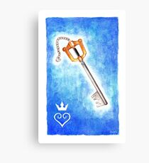 Keyblade Canvas Print