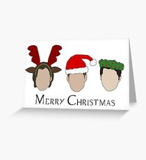 Holiday Spirit Greeting Card