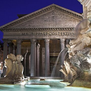 Rome - Pantheon by Gremlin