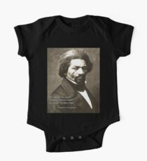 Frederick Douglass 1 Kurzärmeliger Einteiler