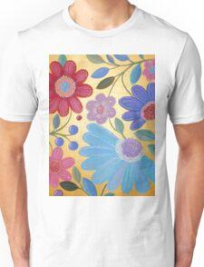 Groovy Flowers Unisex T-Shirt