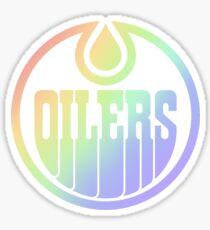Edmonton Oilers Pride Sticker