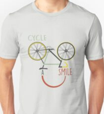 Cycle A Smile Unisex T-Shirt