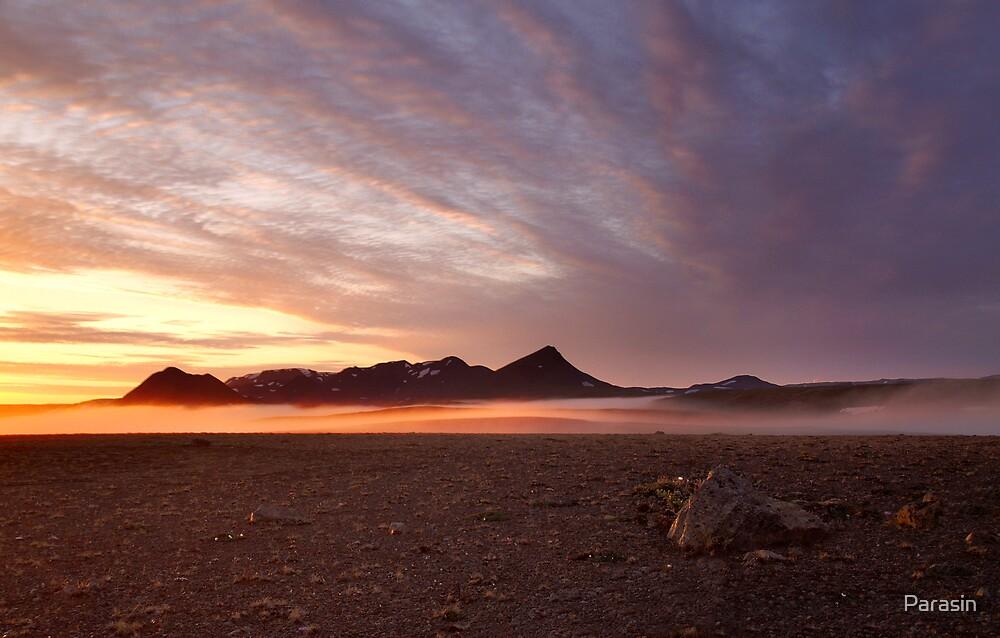 Sunset mist by Parasin