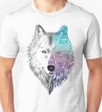 Camiseta unisex Wolf Mandala