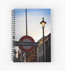 Train In Vain Spiral Notebook