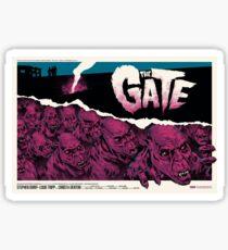 The Gate 1987 Movie Poster Sticker