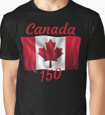 Celebrate Canada's 150th Birthday Graphic T-Shirt
