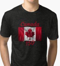 Celebrate Canada's 150th Birthday Tri-blend T-Shirt