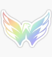 Washington Capitals Pride Sticker