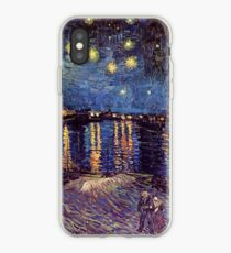Starry Night over the Rhone, Vincent van Gogh iPhone-Hülle & Cover