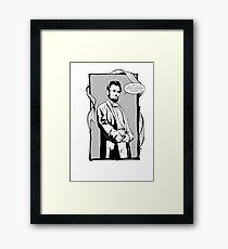 Captain Abe Framed Print