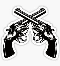 Revolvers Sticker