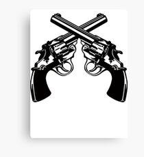 Revolvers Canvas Print