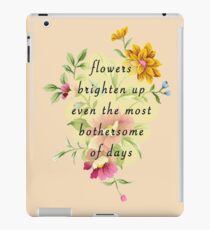 Bothersome Days iPad Case/Skin