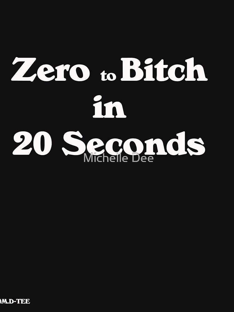 Zero to bitch in twenty seconds black by michelleduerden