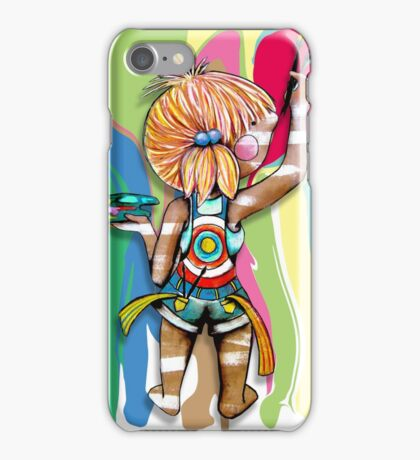 Art Chick iPhone Case/Skin