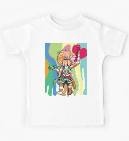 Art Chick Paint Shirt Kids Clothes